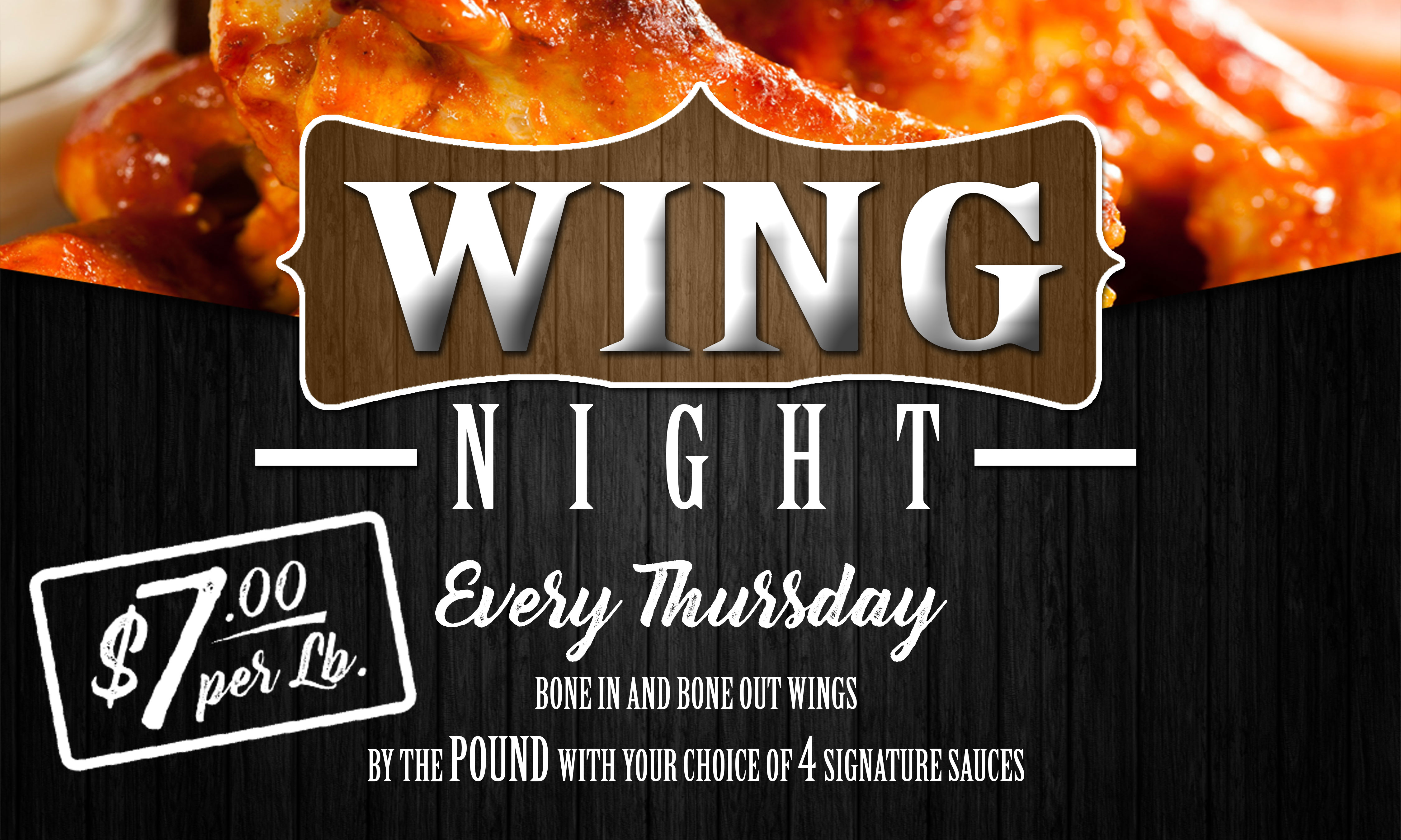 Monday night wing deals toronto